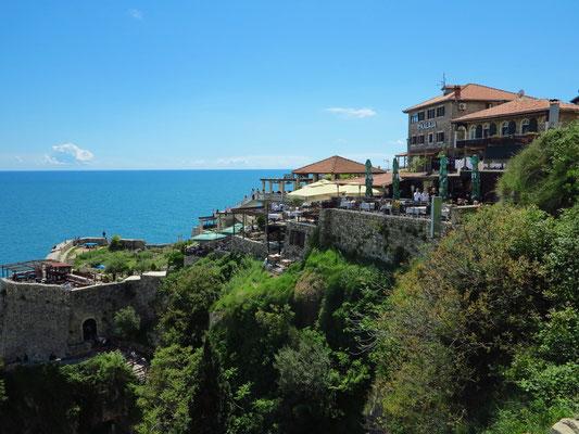 Hotel in der Altstadt von Ulcinj