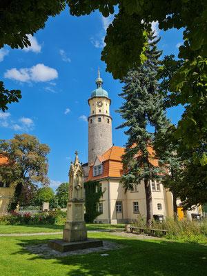Arnstadt, Turm der Schlossruine Neideck