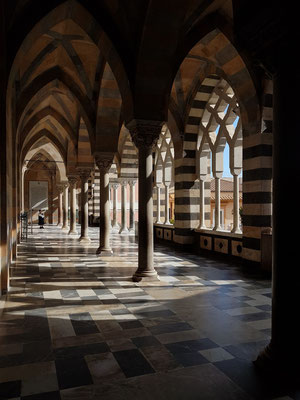 Offene Vorhalle, Eingang zur Kathedrale von Amalfi