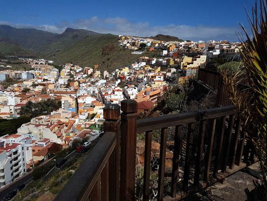 Parador Nacional de la Gomera, Blick nach San Sebastián