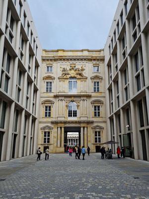 Passage im Humboldt-Forum, Verbindung zwischen Schlossplatz und Lustgarten