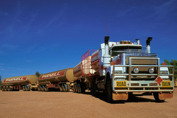 AUS Curtin Springs, Road Train