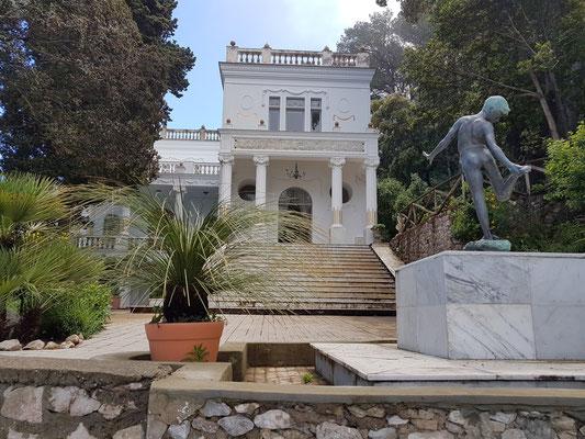 Villa Lysis nach dem Aufklaren