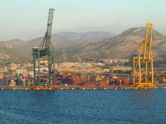 Containerhafen von Cartagena