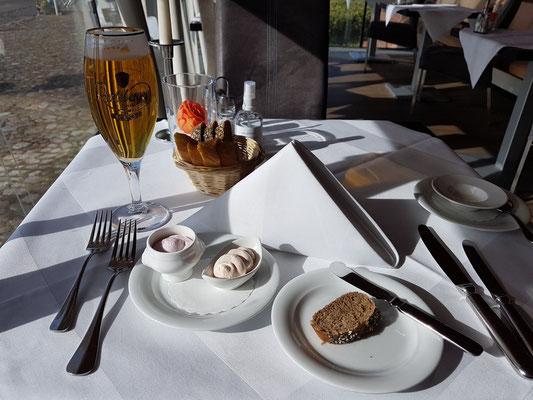 Zum Abendessen im Speicher Hotel Barth