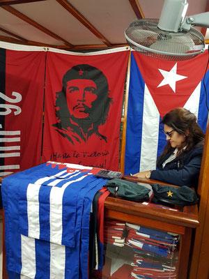 Käufliche Erinnerungen an Che Guevara und Kuba