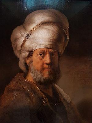 Rembrandt van Rijn: Mann in orientalischer Kleidung, 1635