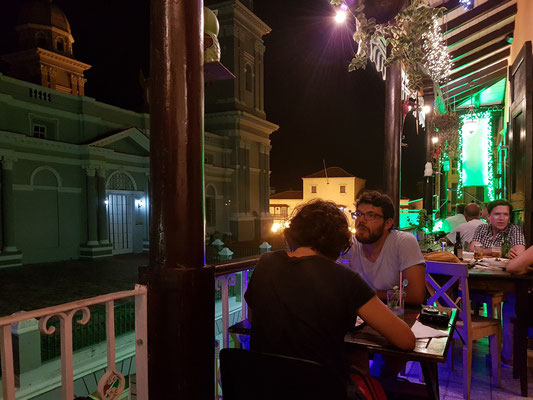 Balkon des Restaurants Thoms Yadira
