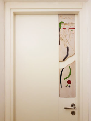 """Casa MAO. Die Eingangstür zu meinem Zimmer """"Marsia"""""""