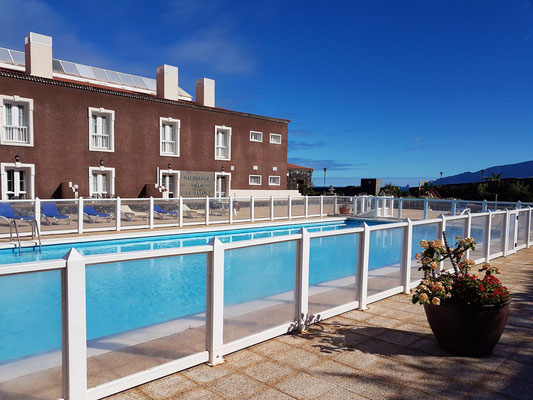 Swimmingpool des Hotels Balneario