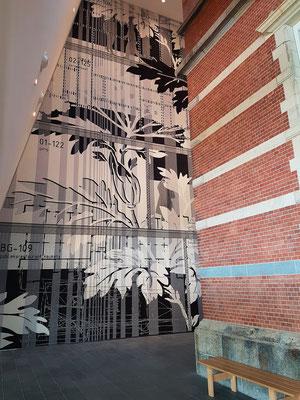 Stedelijk Museum, Kombination von altem und neuem Gebäude
