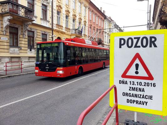 Oberleitungsbus der Firma Škoda