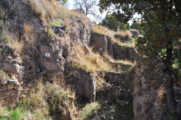 """Das homerische """"mauergewaltige Troja"""" bietet sich dem heutigen Besucher als von zahlreichen Gräbern zerfurchter Hügel."""