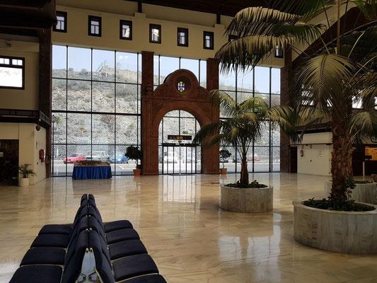 Flughafen La Gomera, Eingangshalle