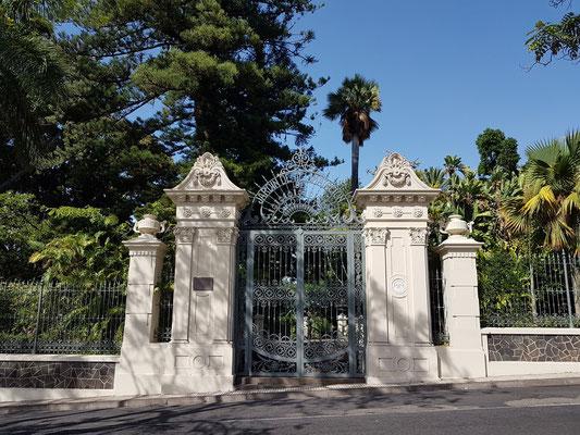 Seiteneingang zum Botanischen Garten (Jardín de Aclimatación de La Orotava)