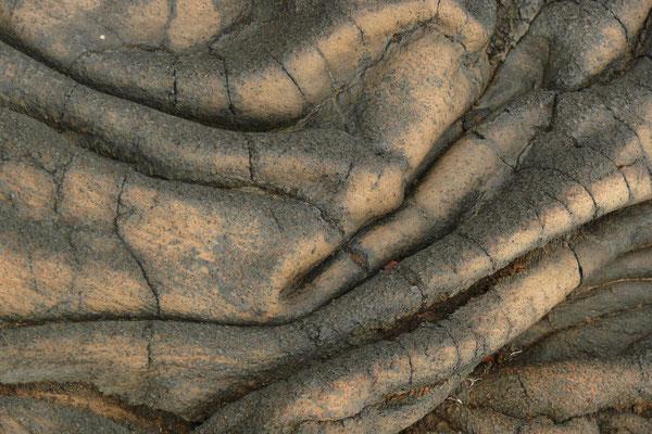 Lavastrukturen im Süden von Hierro