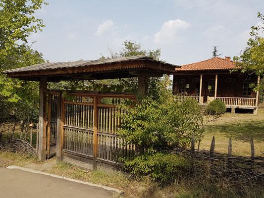 Eingang zu einem westgeorgischen Bauernhaus