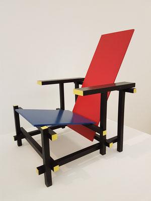 Gerrit Rietveld: Der Rot-Blaue Stuhl, 1951