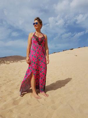 Auf der Großen Düne an der Playa de Sotavento