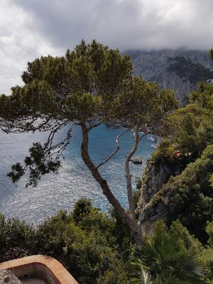 Blick von der Via Tragara