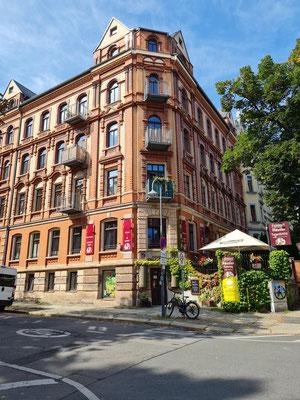 Gründerzeithäuser Barbarossastraße/Gerhart-Hauptmann-Platz