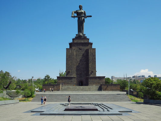 Denkmal Mutter Armenien