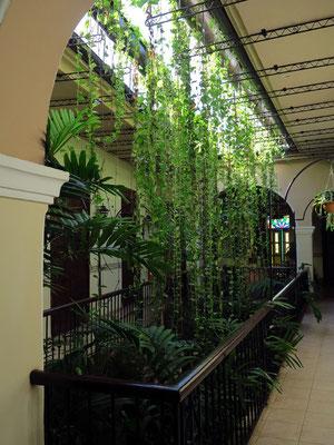 Patio im Hotel Los Frailes, 3. Geschoss