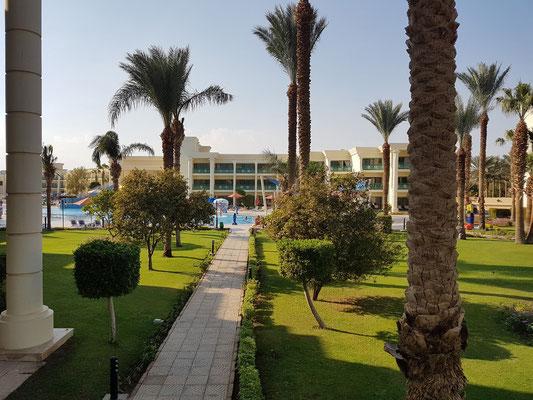 Hilton Resort, Blick von Block 6