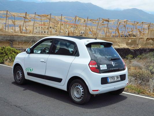 Unser Mietauto Renault Twingo