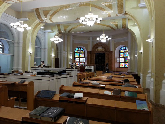 Or-Sameach-Synagoge, Versammlungs- und Gebetsraum