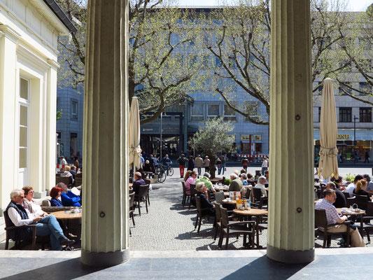 Eiscafé Elisenbrunnen,  4.5.2013