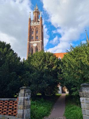 Bibelturm der St. Petri-Kirche in Wörlitz