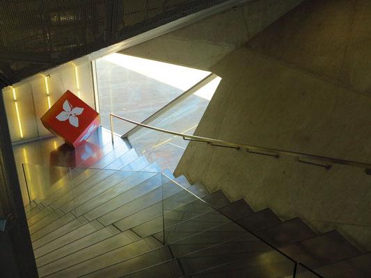 Casa da Música, Treppenhaus zum Großen Saal (Sala Suggia)