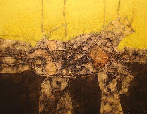 Puerto del Rosario, Kunstausstellung im Centro de Arte Juan Ismael, Werk von César Manrique