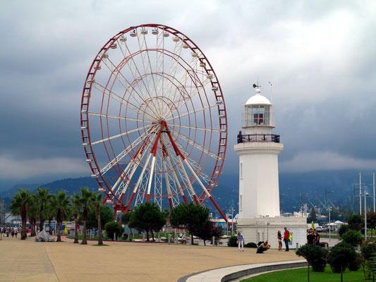 Leuchtturm und Miracle Park
