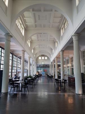 Wandelhalle Bad Pyrmont von 1923/24, vom Architekten Alfred Sasse (1870-1937) konzipiert