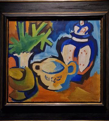 Karl Schmidt-Rottluff (1884-1976): Stillleben, 1923, Öl auf Leinwand