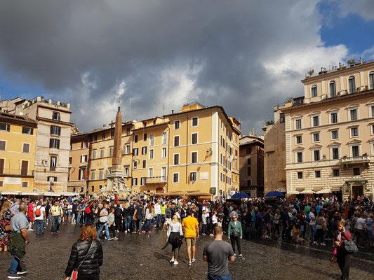 Piazza della Rotonda vor dem Pantheon