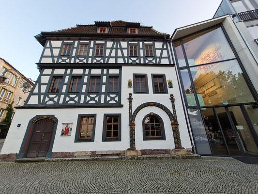 Lutherhaus, eines der ältesten und schönsten Fachwerkhäuser Thüringens