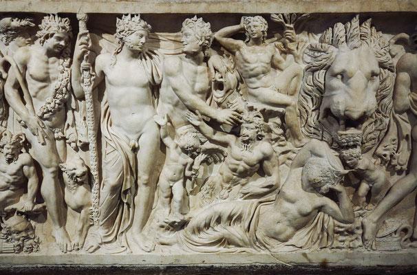 Ouvaroff-Sarkophag, Marmor, Rom, um 210 v. Chr.