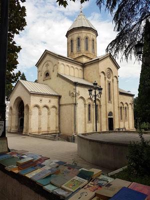 Kwaschweti-Kirche (1904-14), Rustaveli Avenue