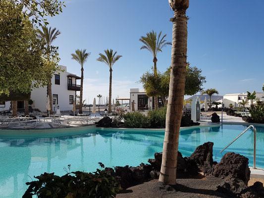Hotel THe Volcán Lanzarote, Poollandschaft