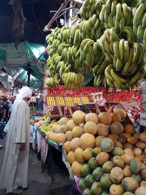 Gemüse- und Obstmarkt in Dahar