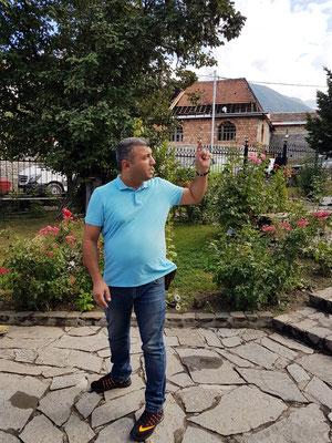 Abbas, unser Reiseleiter in Aserbaidschan