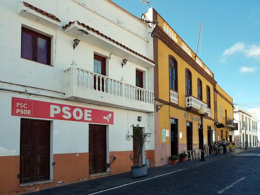 Hauptstraße in El Pinar