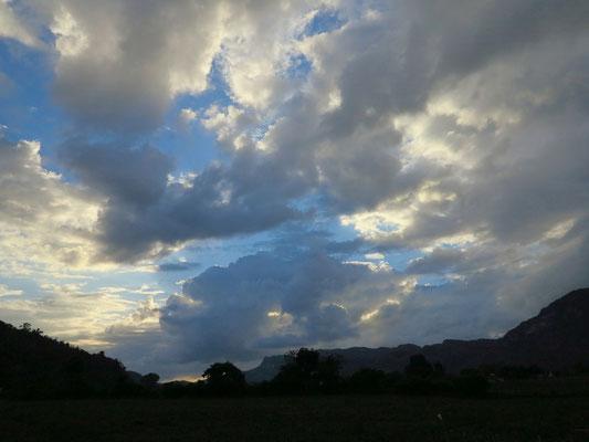 Abendstimmung im Tal von Viñales