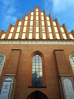 Giebelseite der Johanneskathedrale