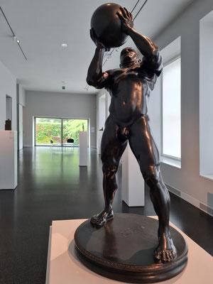 Franz von Stuck (1863-1928): Athlet, 1892, Bronze