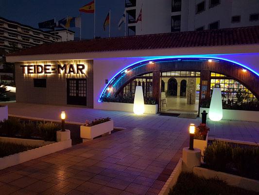 Eingang zum Apartmenthaus Coral Teide Mar