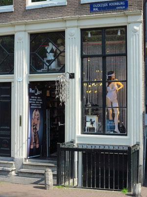 Erotic-Shop an der Sint Jansbrug, Oudezijds Voorburgwal
